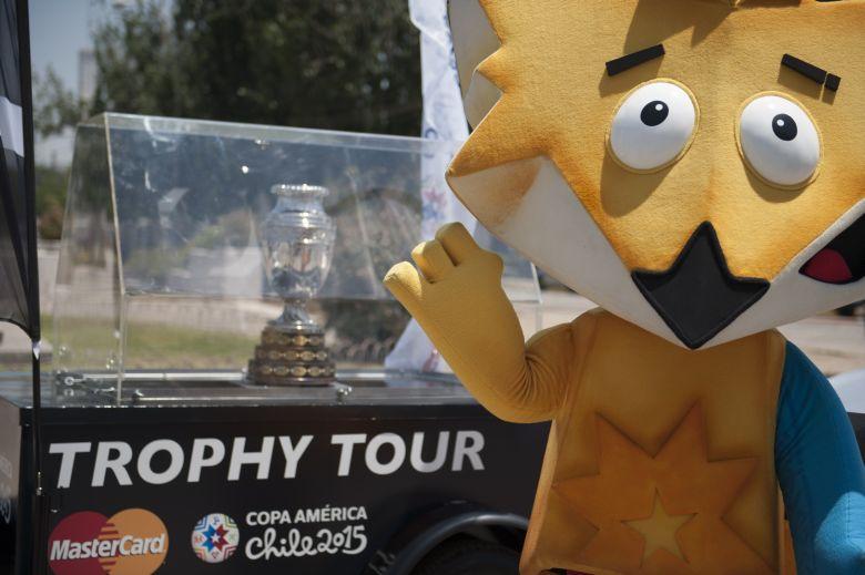 Copa America 2015 Mascota, Copa America 2015 Zincha