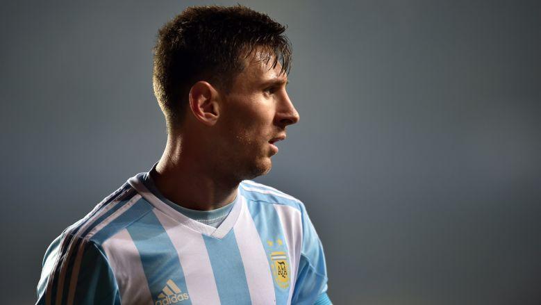 Lionel Messi de Argentina. (Getty)