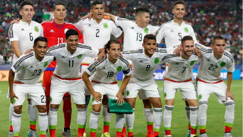 La selección de México. (Getty)