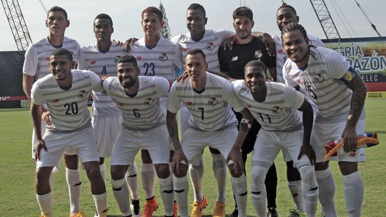 La selección de fútbol de Panamá. (Getty)