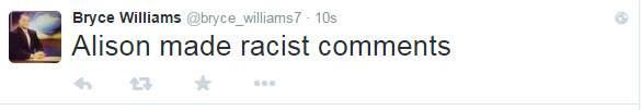 Un tweet publicado por Flanagan acerca de una de las víctimas. (Heavy)