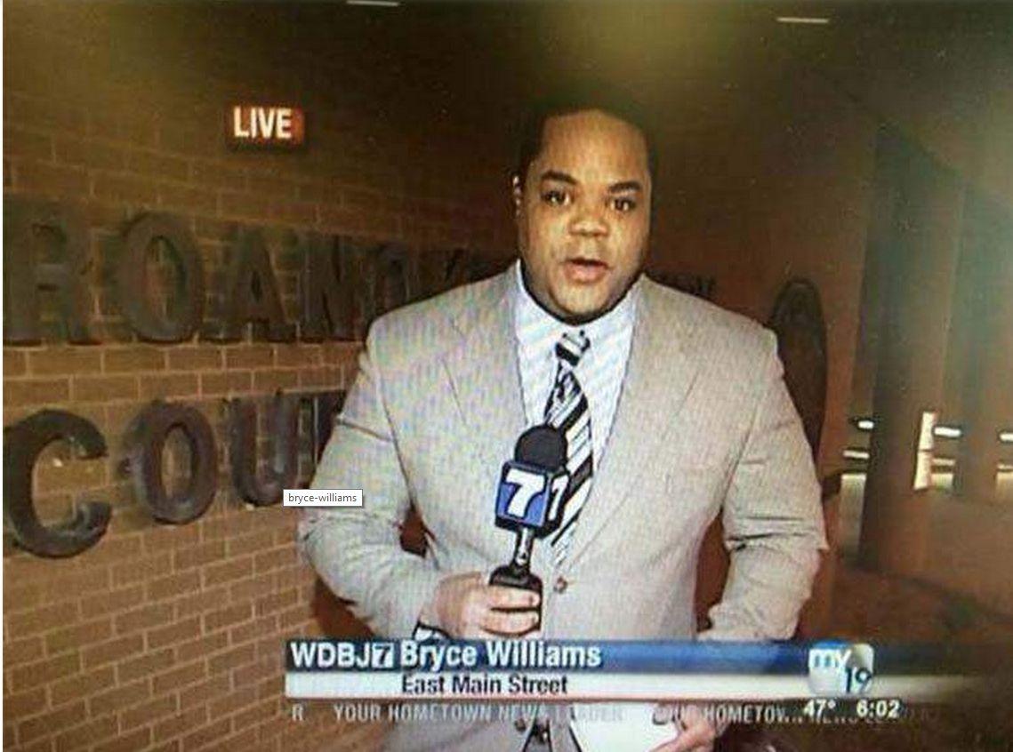 Flanagan, a menudo utilizando el nombre en el aire Bryce Williams, ha trabajado en varias estaciones de noticias en todo el país, de acuerdo a su página de LinkedIn. Trabajó en WDBJ de marzo 2012-febrero 2013. (Heavy)