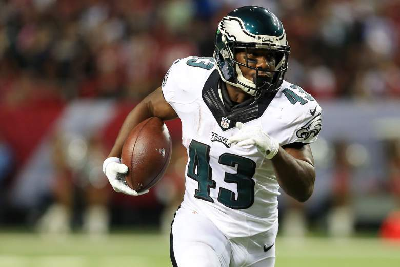 Darren Sproles de los Eagles de Filadelfia. (Heavy)