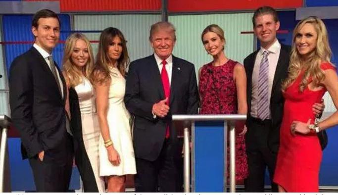 Donald Trump, Donald Trump hija, Donald Trump hijo, Donald Trump esposa, Donald Trump familia, Donald Trump fotos