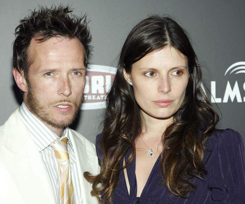 Weiland con ex esposa Mary Forsbeg en 2007. (Getty)