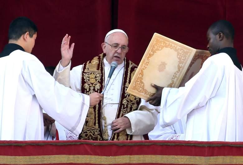 Navidad en el Vaticano, Papa mensaje de navidad