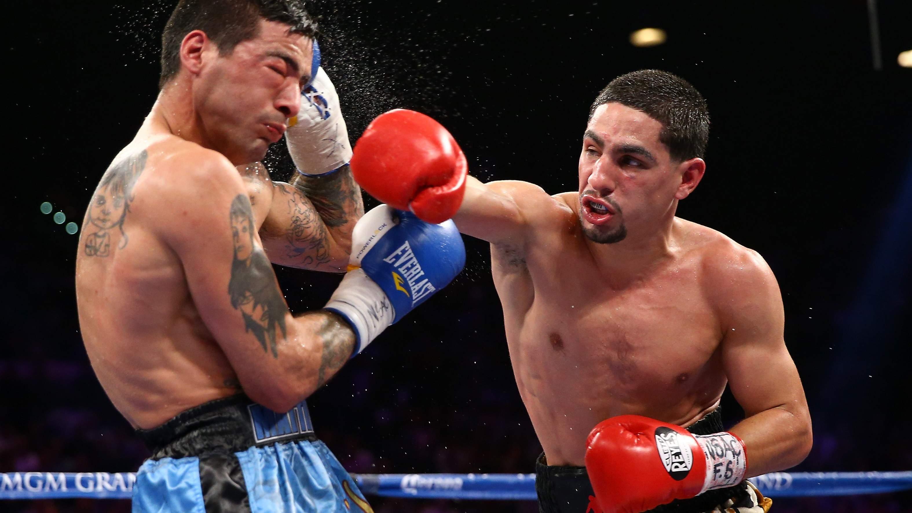 Danny García pelea Robert Guerrero este sábado. (Getty)