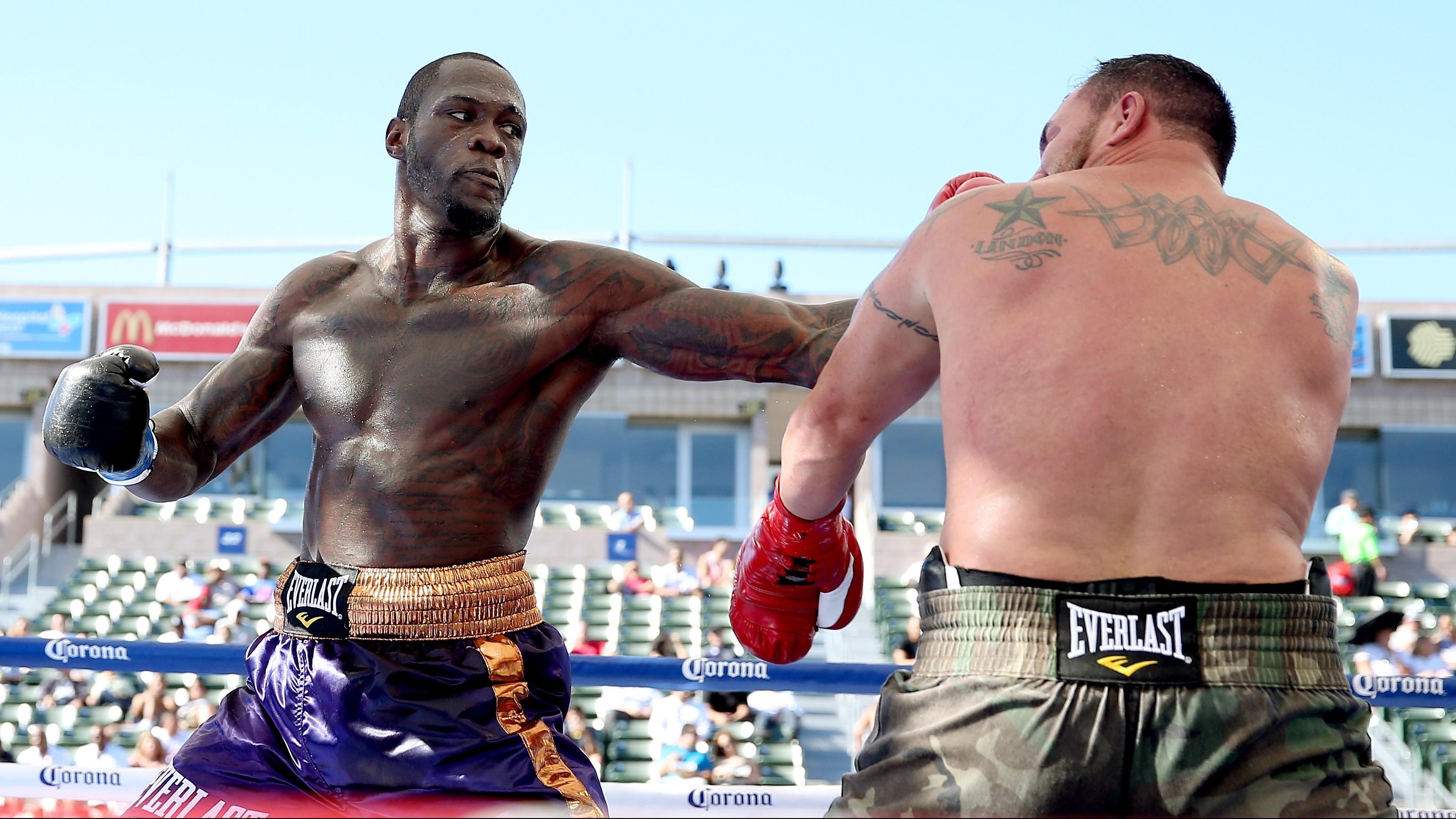 Deontay Wilder defiende su título contra Artur Szpilka el sábado. (Getty)