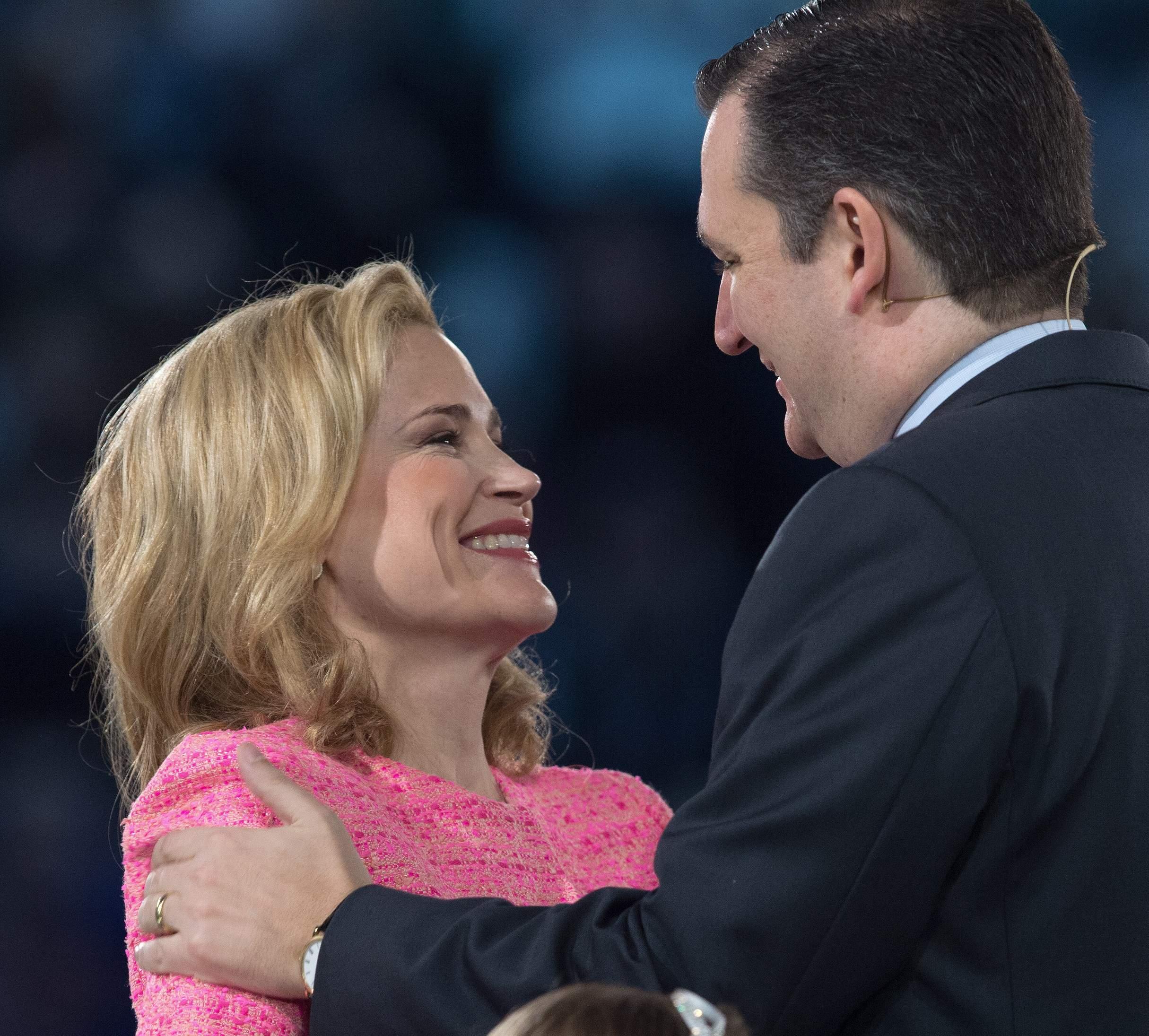 ted cruz, ted cruz esposa, Campaña en Iowa