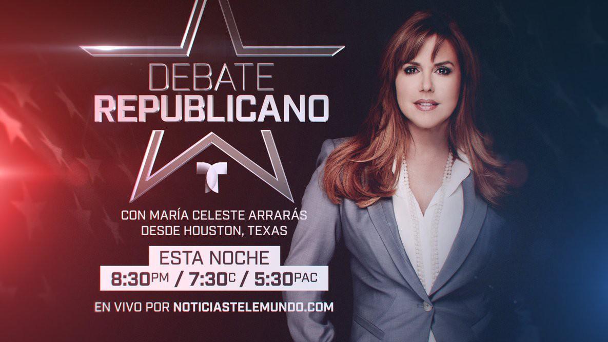 Telemundo Noticias, Debate Republicano stream, Donde ver el Debate Republicano