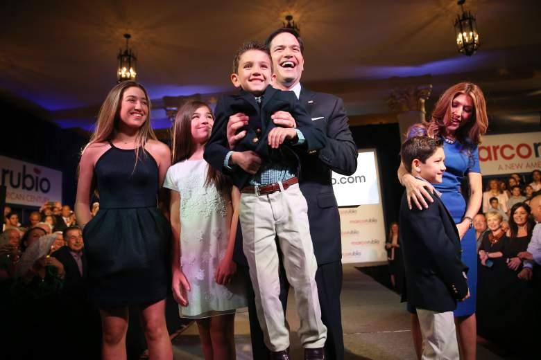 Familia de Marco Rubio, Esposa de MArco rubio, hijos de marco rubio