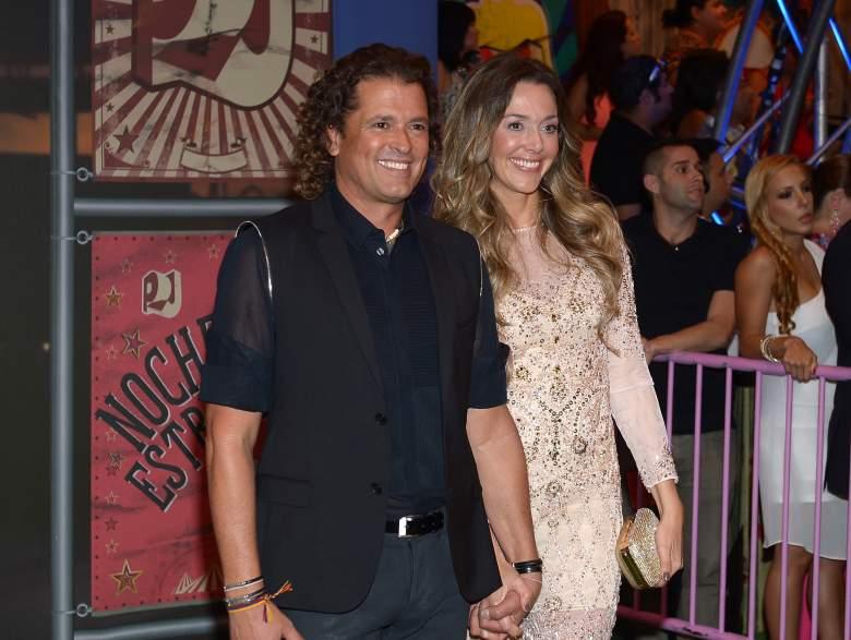 Carlos Vives regresó a la música gracias a su esposa. (Facebook)
