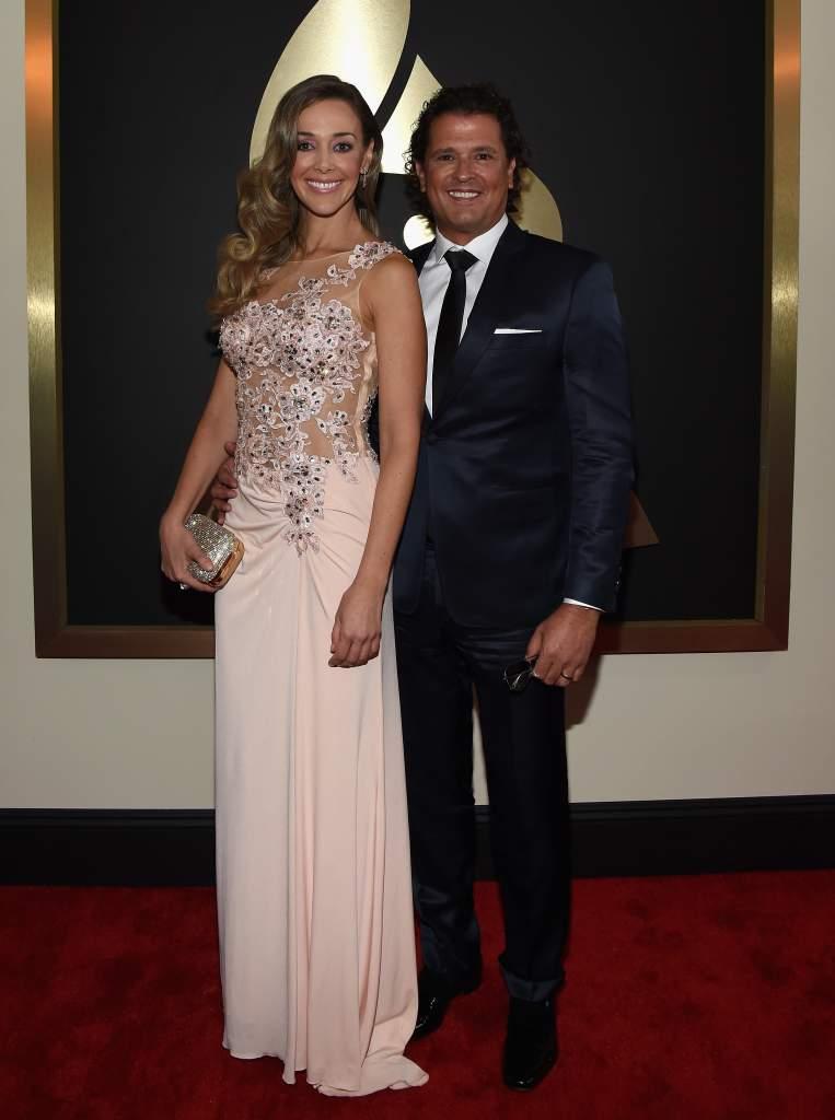 Carlos Vives tiene dos hijos con Claudia Elena Vásquez. (Getty)