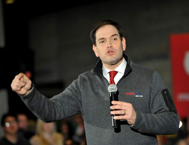 Candidato republicano Marco Rubio