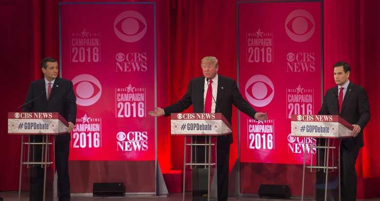Donald Trump, Encuestas republicanas, caucus nevada