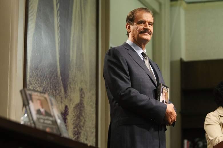 Expresidente de México Vicente Fox. (Getty)