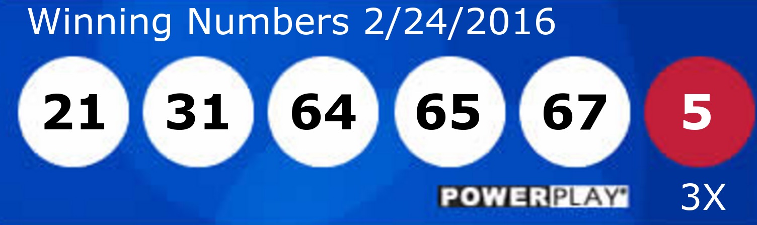 Números de Powerball, Powerball numbers
