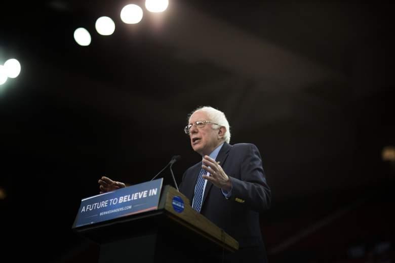 Bernie Sanders donó todas las regalías de su libro a la caridad. (Getty)