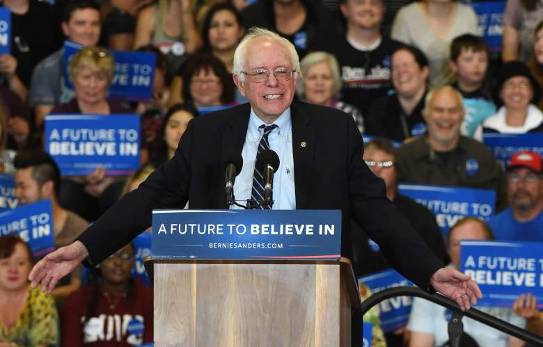 """Aunque Bernie Sanders es judío, algunos lo llaman el candidato mas """"cristiano"""". (Getty)"""