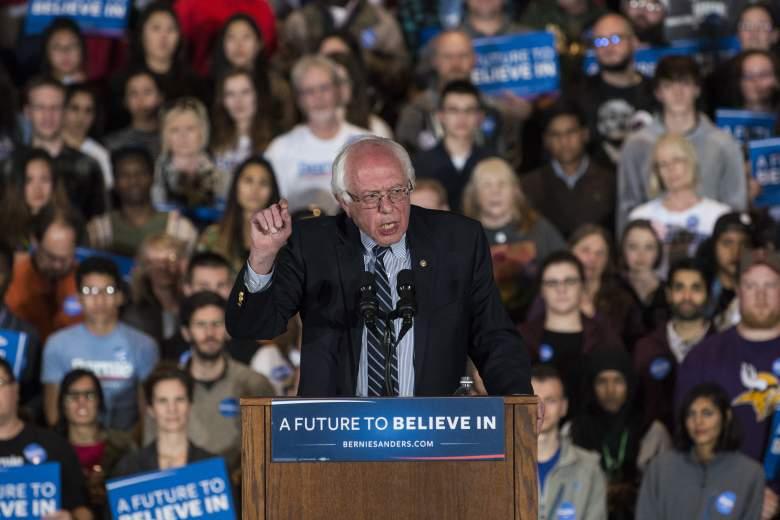 Bernie Sanders escuchó a sus padres discutiendo sobre dinero cuando era un niño. (Getty)