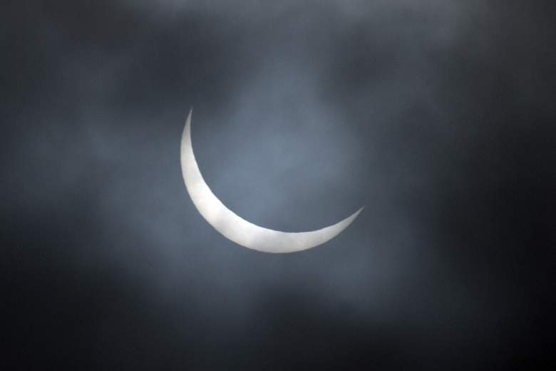 Un eclipse parcial solar (Getty)