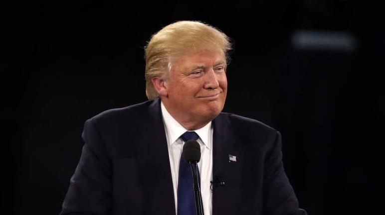 Donald Trump tiene una ventaja temprana en Nueva York. (Getty)