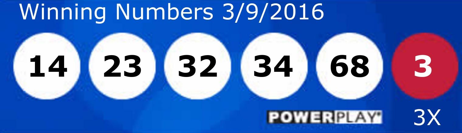 Números de powerball