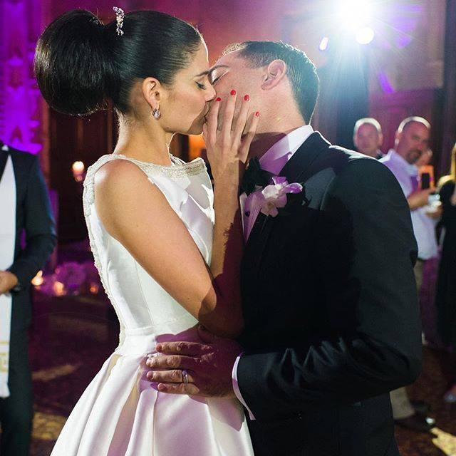 La pareja se casó el pasado 2 de enero en Miami, Florida.