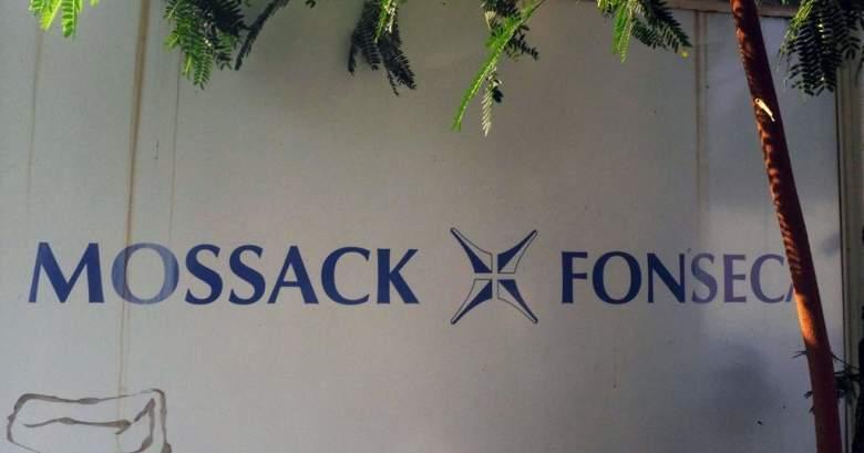 Letrero de la entrada de la firma de abogados Mossack Fonseca, en Panamá.