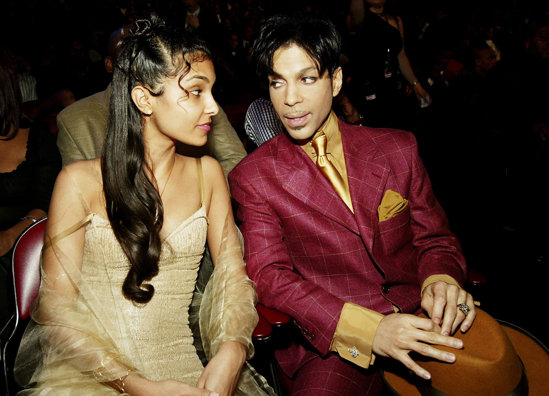 Prince y su ex esposa Manuela Testolini (Getty)