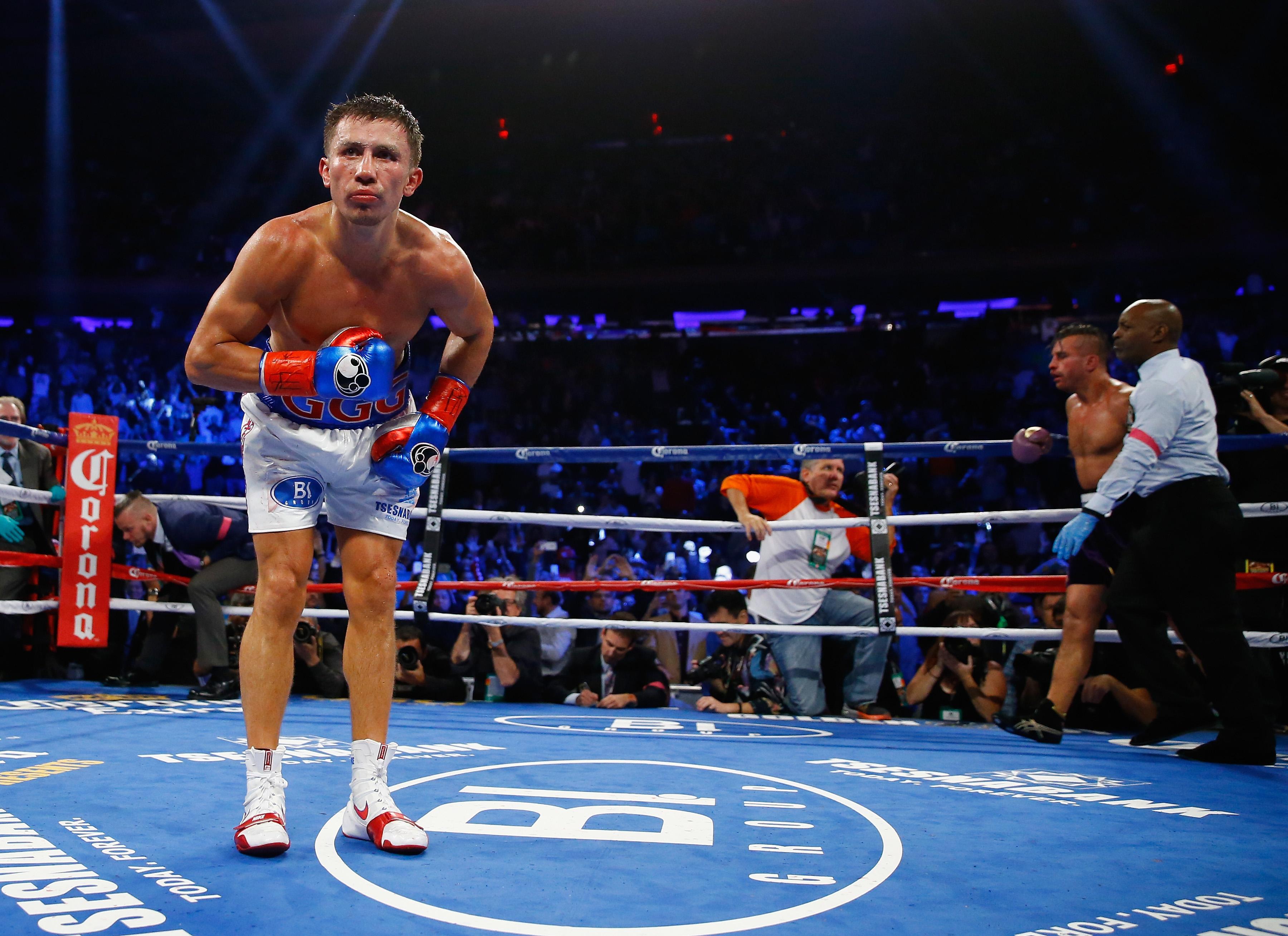 Gennady Golovkin pelea, cuando es la pelea de Gennady Golovkin