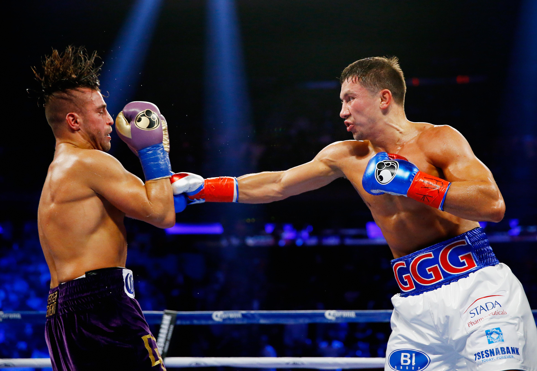 Gennady Golovkin se enfrenta a Dominic Wade este sábado. (Getty)