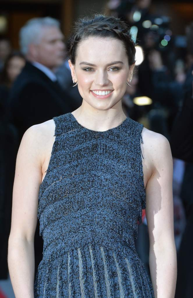 Daisy Ridley 'Star Wars: The Force Awakens' (Getty)
