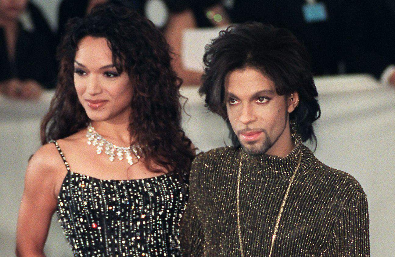 Prince con Mayte (Getty)