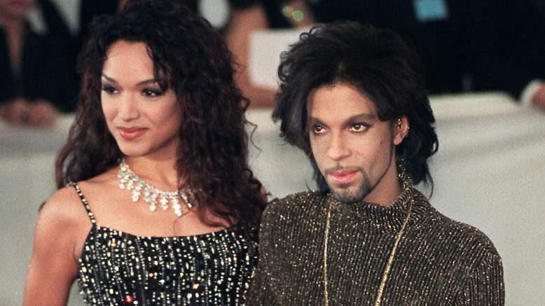 Prince y Mayte García. (Getty)