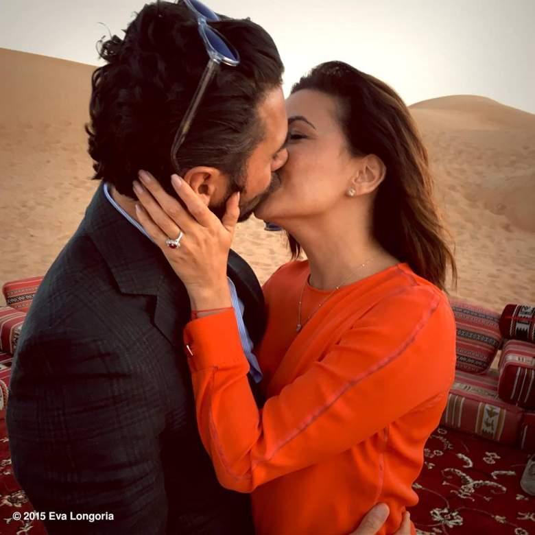 Eva Longoria y Pepe Bastón se casan este mes de mayo. (Eva Longoria/Facebook)