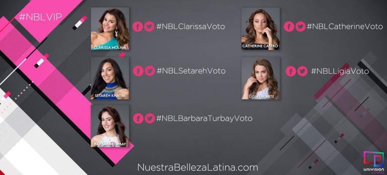 Las cinco finalistas que van a la semifinal de NBL VIP.