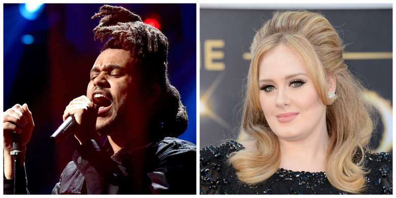 The Weeknd y Adele entre los más nominados de los Billboard Music Awards 2016. (Getty Images)