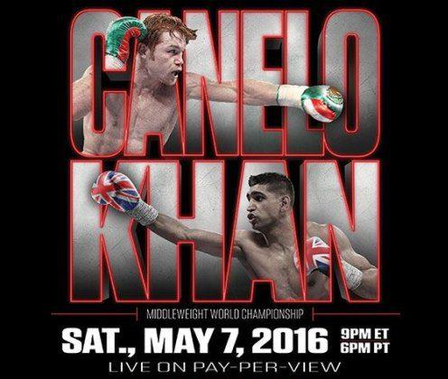 Canelo Alvarez vs. Amir Khan costo, Canelo Alvarez vs. Amir Khan precio, Canelo Alvarez vs. Amir Khan hora, Canelo Alvarez vs. Amir Khan dia,