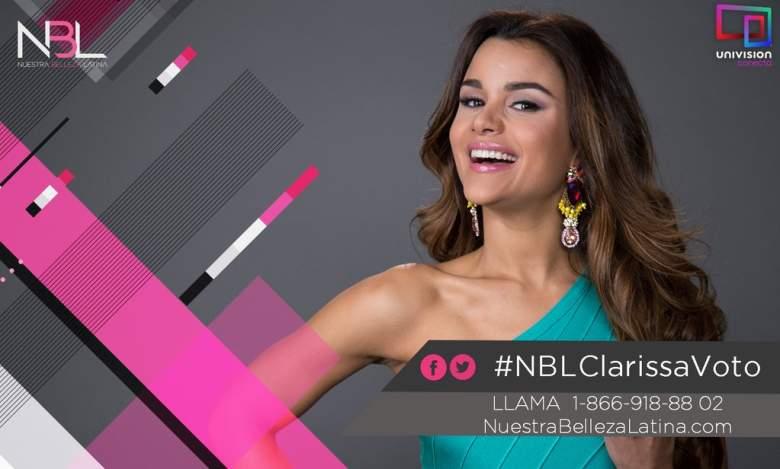 Clarissa Molina de República Dominicana.