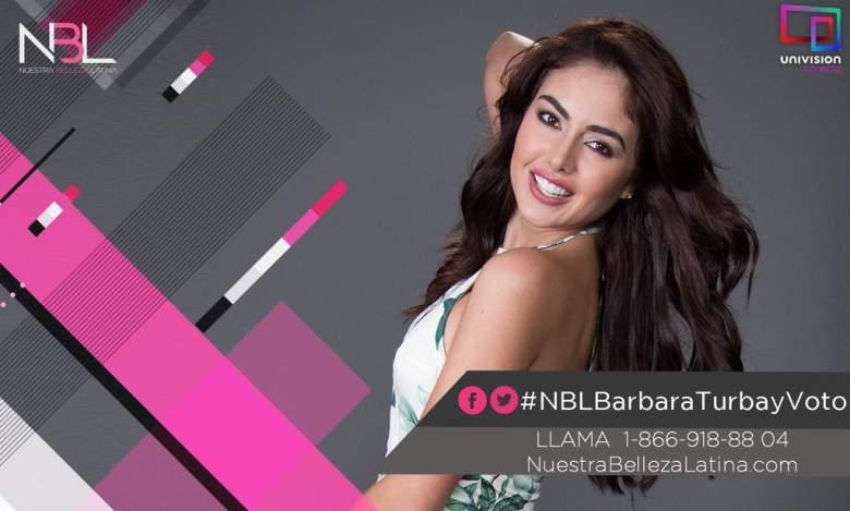 Bárbara Turbay de Colombia.