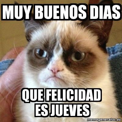 memes de feliz jueves, #felizjueves memes
