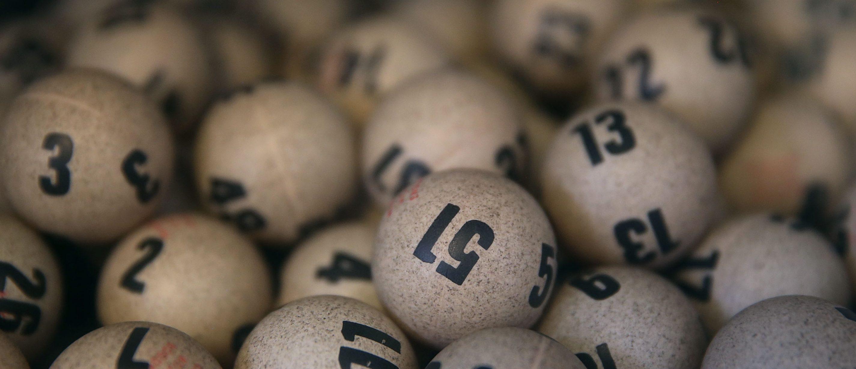 Los números ganadores de la lotería nacional. (Getty)