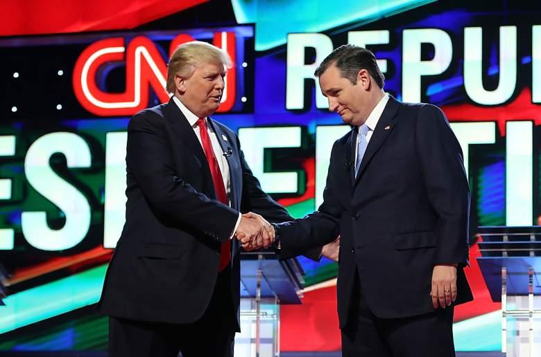 Donald Trump mantiene una ventaja sobre Ted Cruz en California.