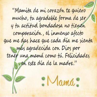 poemas dia de las madres