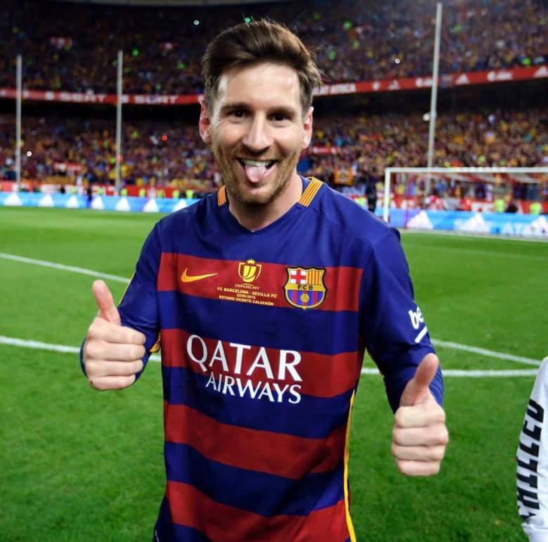 Lionel Messi (Facebook)