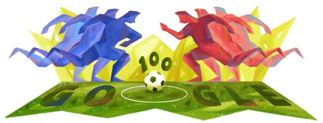 Copa América Centenario (Google Doodle)