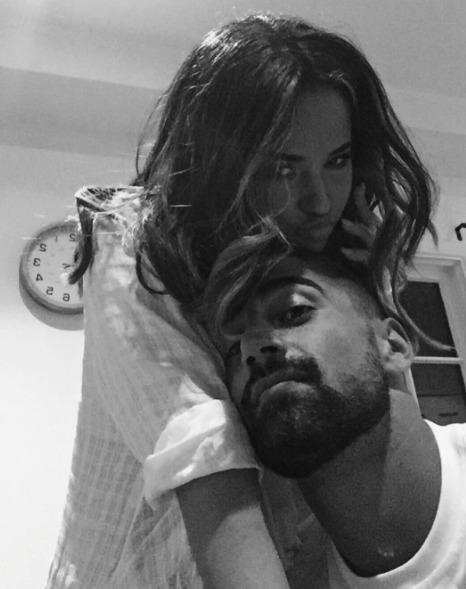 Becky G y Sebastian Lleget (Instagram)