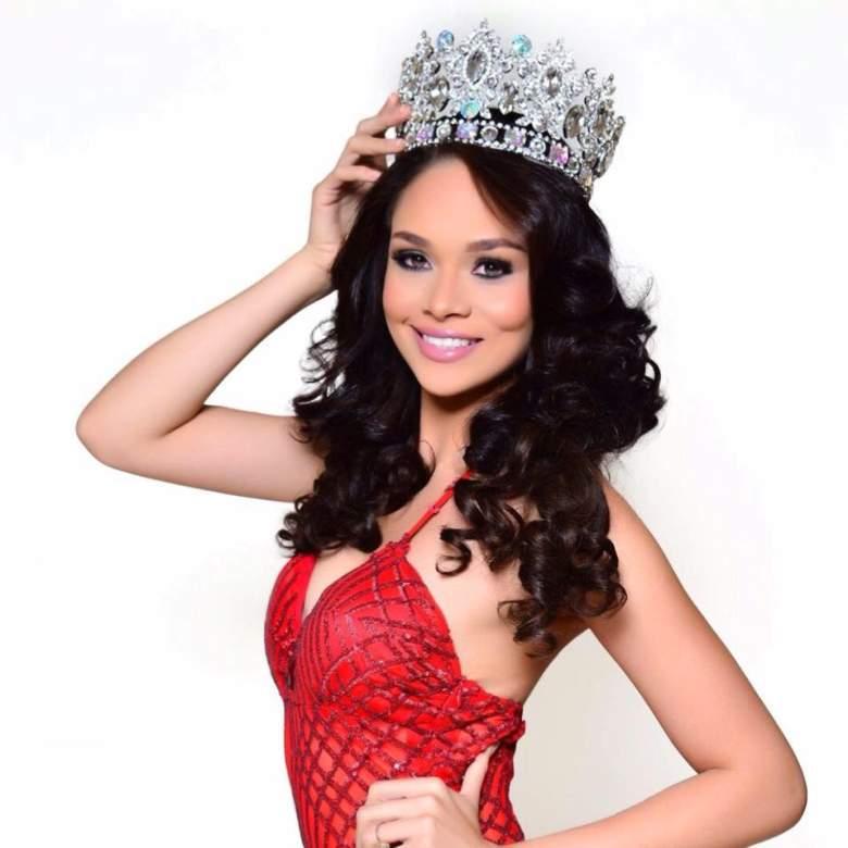 Sirey Morán es Miss Universo Honduras 2016. (Facebook/Sirey Morán)