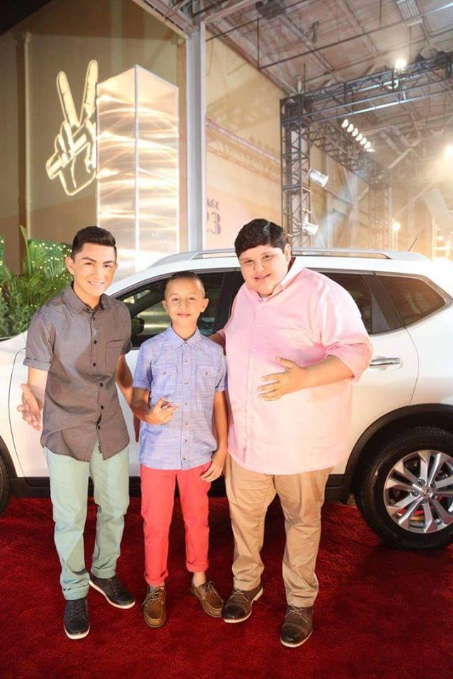 Los finalistas de 'La Voz Kids' (Facebook)
